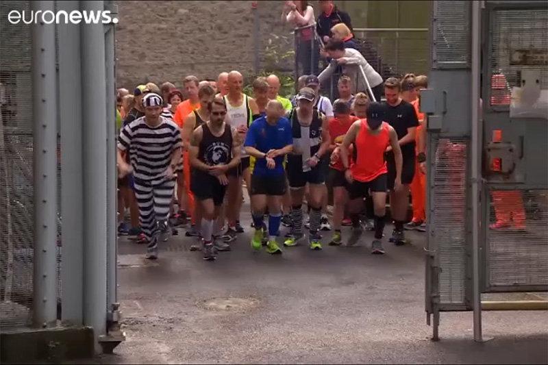 فیلم ، مسابقه سریع ترین فرار در زندانی در بریتانیا!