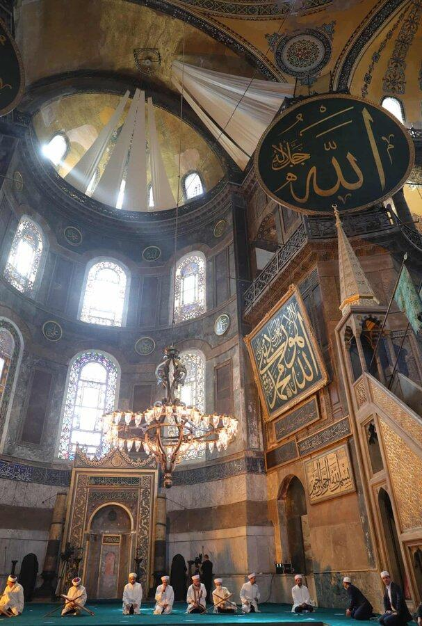 عکس روز ، نماز آدینه در ایاصوفیه